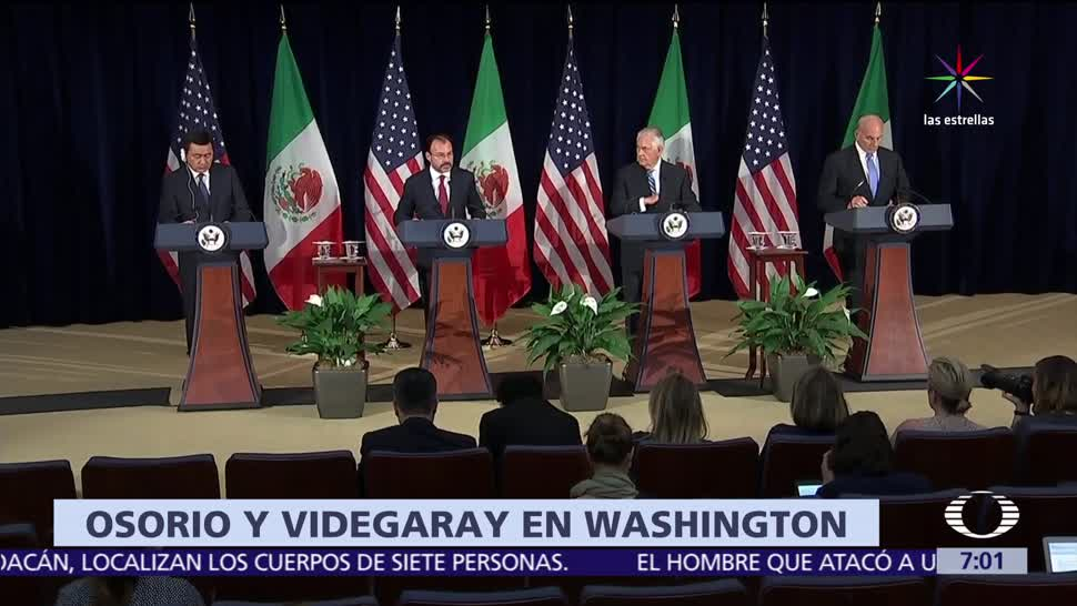 México, EU, reunión de alto nivel, contra narcotráfico
