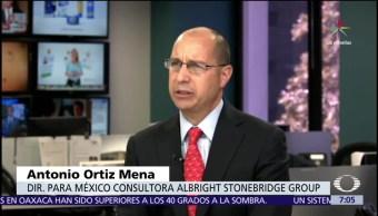 Antonio Ortiz Mena, renegociación, TLCAN, obstáculos