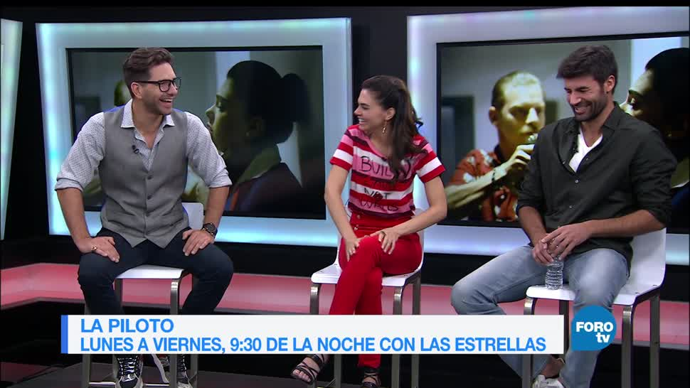 La Piloto, Livia Brito, Arap Bethke, Juan Eduardo