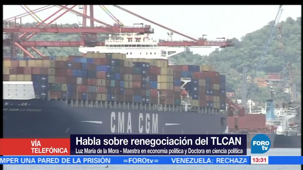 impacto positivo, sectores beneficiados, TLCAN, economista Luz María de la Mora