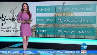 noticas, forortv, El clima, Mayte Carranco, clima, a las tres