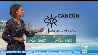 frente frio número 48, El clima, Daniela Álvarez, Conagua