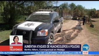 Aumentan, ataques, huachicolero, Hidalgo