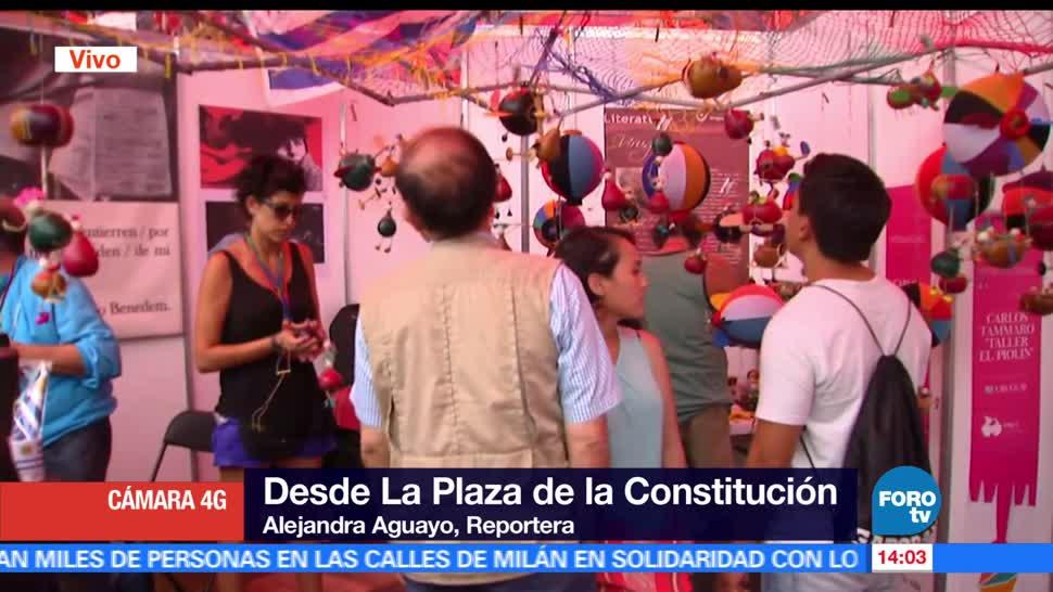 Feria de las Culturas Amigas, Ciudad de México, Zócalo capitalino, costumbres