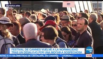 Desalojan, Festival de Cannes, falsa amenaza, bomba