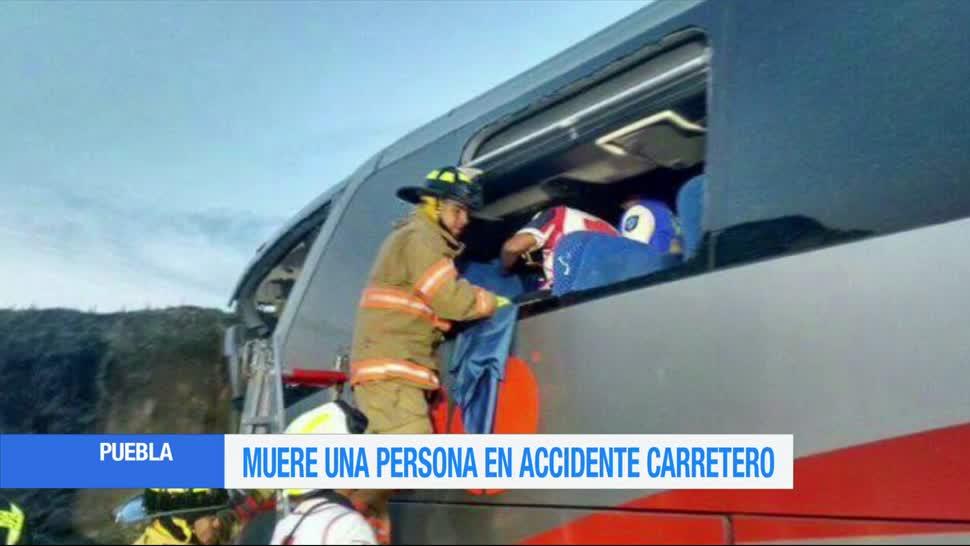 Choque, autobús, muerto y heridos, Puebla, amozoc, perote