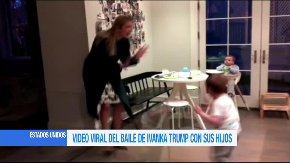 Ivanka Trump, baila, hijos, redes, sociales, Instagram