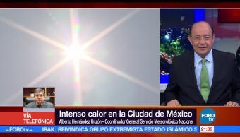 Continuará, ola de calor, Ciudad de México, tempertauras, clima, altas temperaturas