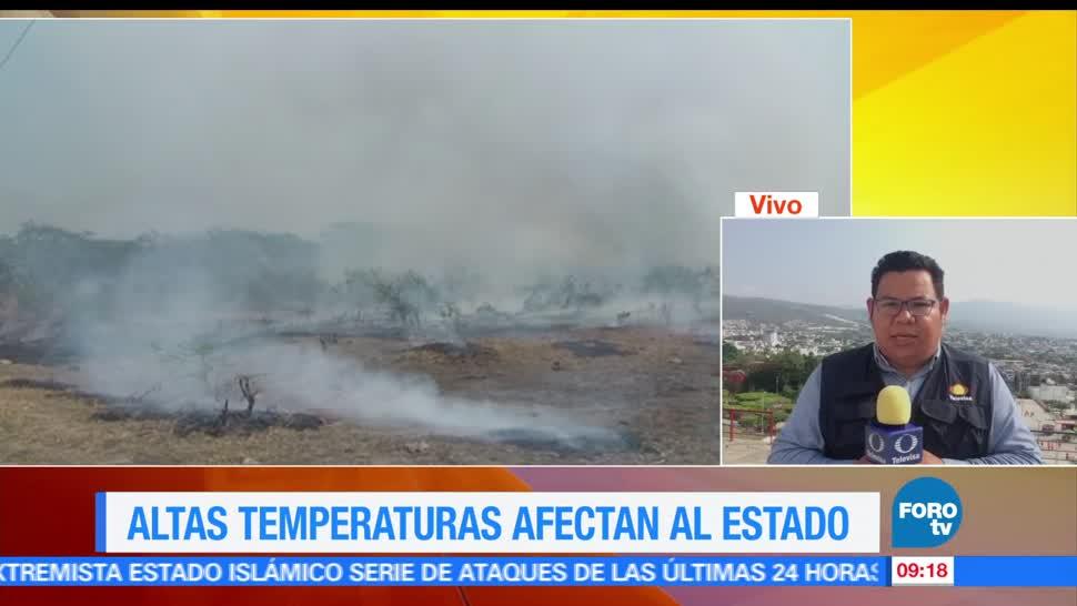 incendios, forestales, Chiapas, registrado, temperaturas