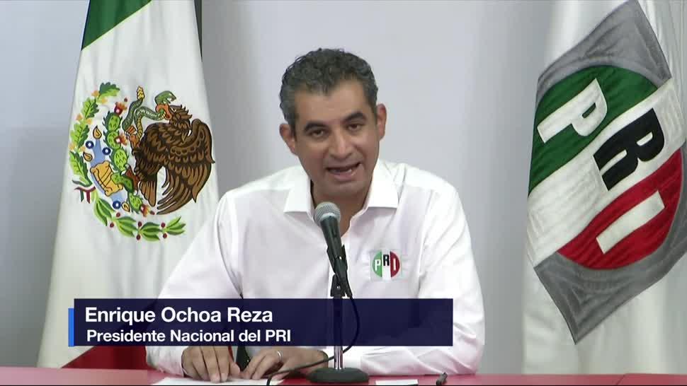 Ochoa Reza, denuncia, Morena, PRI