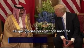 Trump, reunió, rey de Bahrein, Donald Trump
