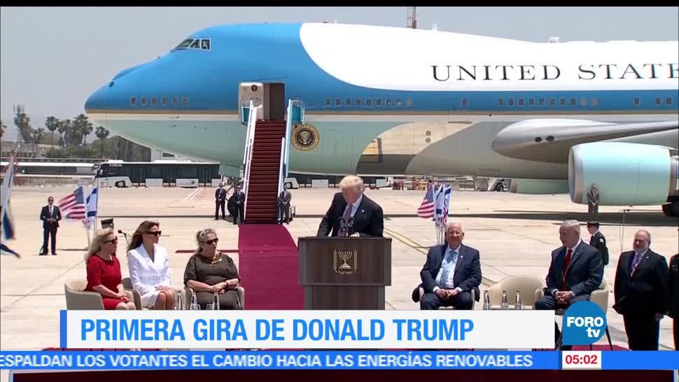 gira internacional, Donald Trump, primer mandatario israelí, Reuvén Rivlin, Israel