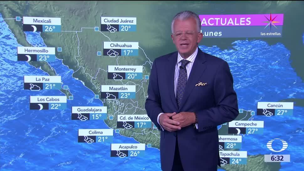 chubascos, tormentas puntuales, Coahuila, Nuevo León, Tamaulipas, Chiapas