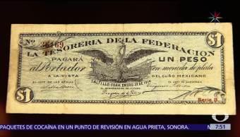 colección de billetes, Cancillería mexicana, valor histórico, billetes históricos