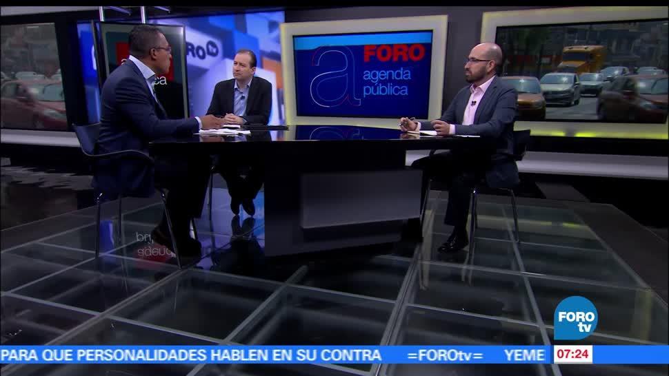 Claudio Flores, Lexia, Omar Estrada, Evidens, contingencia en la Ciudad de México