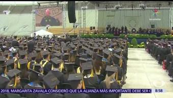 estudiantes, Universidad de Notre Dame, Indiana, ceremonia de graduación