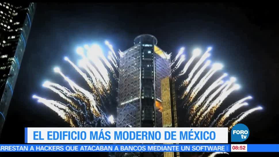 Ximena Cervantes, reportaje, edificio más moderno, México