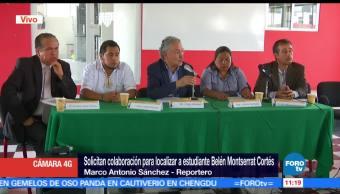 Autoridades, Universidad Autónoma de la Ciudad de México, Belén Montserrat Cortés, desaparecida