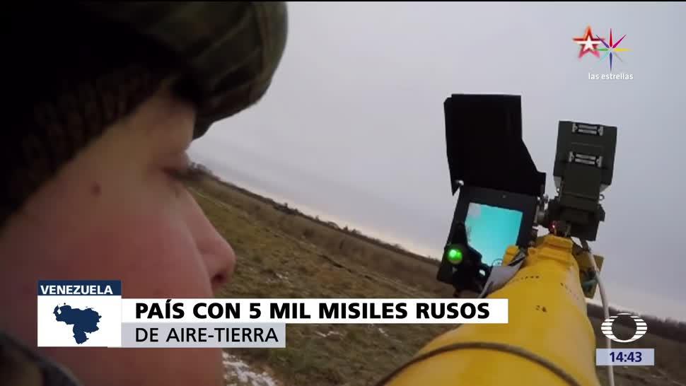 Venezuela, misiles, rusos, Manpads