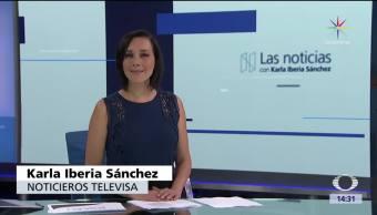 Karla Iberia Sánchez, Televisa, Las noticias con Karla Iberia, Programa completo