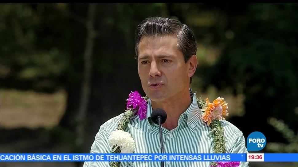 noticias, forotv, Pena Nieto, conmemora, Dia Internacional, Diversidad Biologica