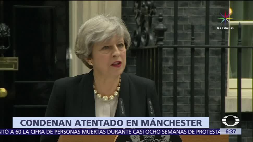 Policía británica, identidad del atacante, Arena Manchester, Theresa May