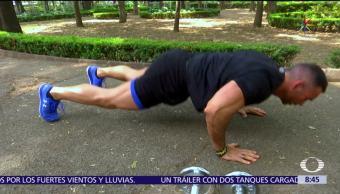 Diego Di Marco, rutina, flacidez, ejercicio al día