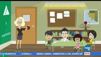 Héctor Alonso, reportaje, organización, Junior Achivement México