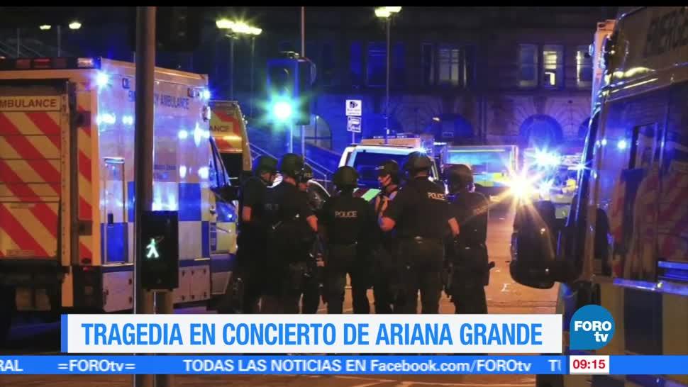 concierto, Ariana Grande, Manchester Arena, tragedia, atentado terrorista