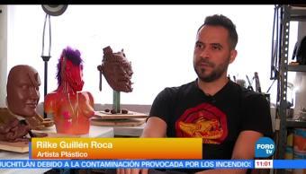 Bryan Mendoza, reportaje, artista plástico, Rilke Guillén