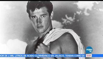 actor británico, Roger Moore, películas, James Bond, Suiza