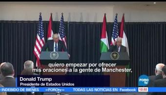 presidente Donald Trump, condolencias, familiares, víctimas del atentado