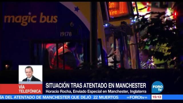 Situación, atentado en Manchester, Inglaterra, personas fallecidas