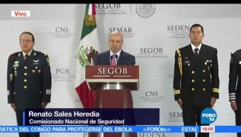 Renato Sales, comisionado nacional de Seguridad, confirma detención, El Hamburguesa