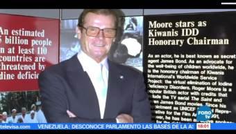 labor, filantrópica, Roger Moore, actor británico
