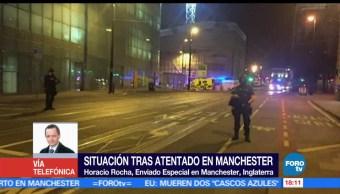 Ejército británico, Manchester, En FOROtv, Horacio Rocha