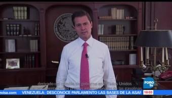 Destaca, presidente, Enrique Peña Nieto EPN, PIB