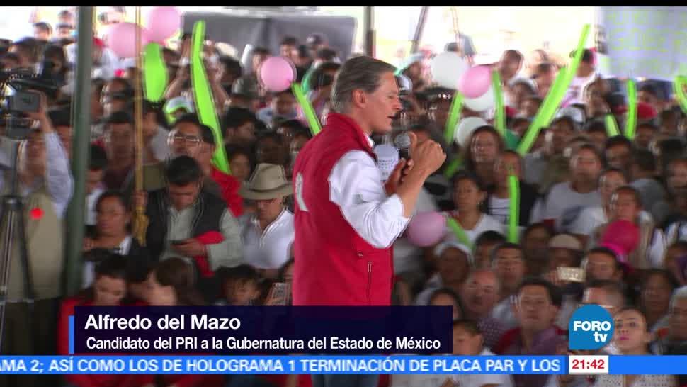 noticias, forotv, Alfredo del Mazo, recorre, Sultepec, Villa Guerrero y San Mateo Atenco