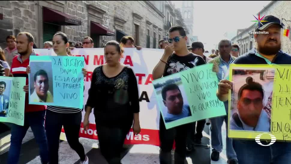 noticias, televisa, Marchan, Morelia, periodista, desaparecido