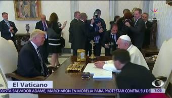 Vaticano, Donald Trump, Francisco, mensaje de paz
