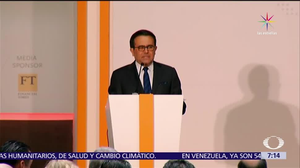 Ildefonso Guajardo, Estados Unidos, objetivos, renegociación del TLC