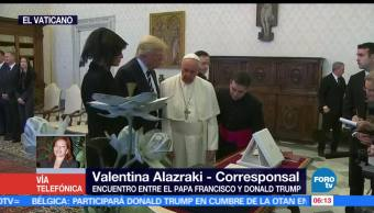 papa Francisco, presidente de Estados Unidos, Trump, El Vaticano