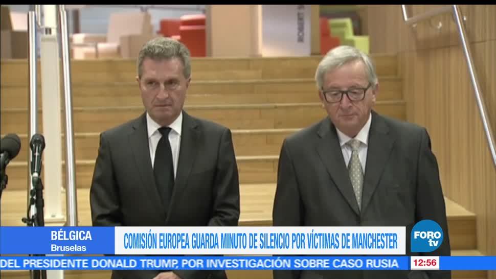 Jean-Claude Juncker, Comisión Europea, Colegio de Comisarios, minuto de silencio