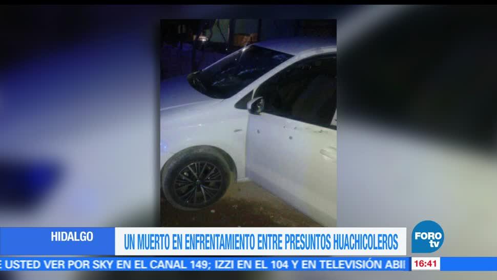 noticias, FOROTV, Enfrentamiento, huachicoleros, un muerto, Hidalgo
