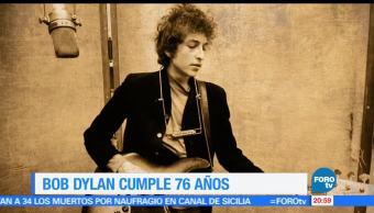 Efeméride, En Hora, Bob Dylan, 24 de mayo, nacimientio, premio nobel