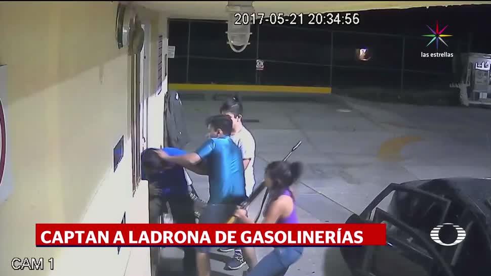 mujer, lidera, banda, asalta-gasolineras, asalto, delincuencias