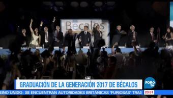 Bécalos, graduación, 2017, Emilio Azcárraga, jóvenes, estudiantes