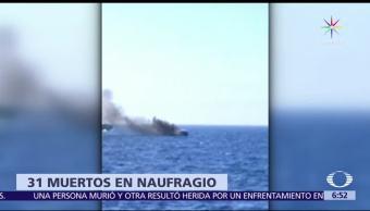 Guardia Costera de Italia, 31 migrantes, niños, mar Mediterráneo