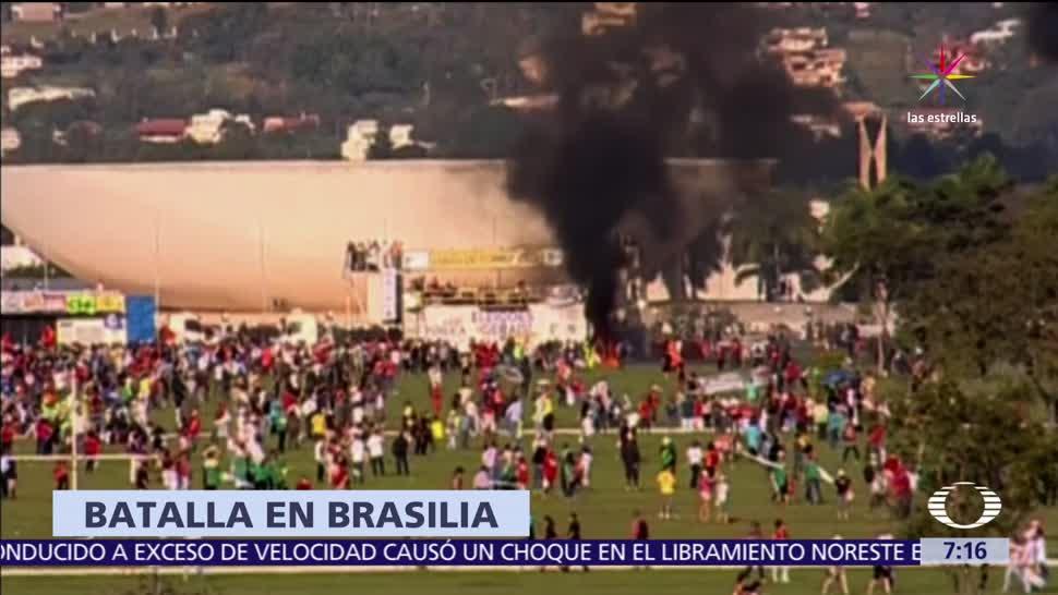 crisis en Brasil, acusaciones de corrupción, presidente Michel Temer, destitución