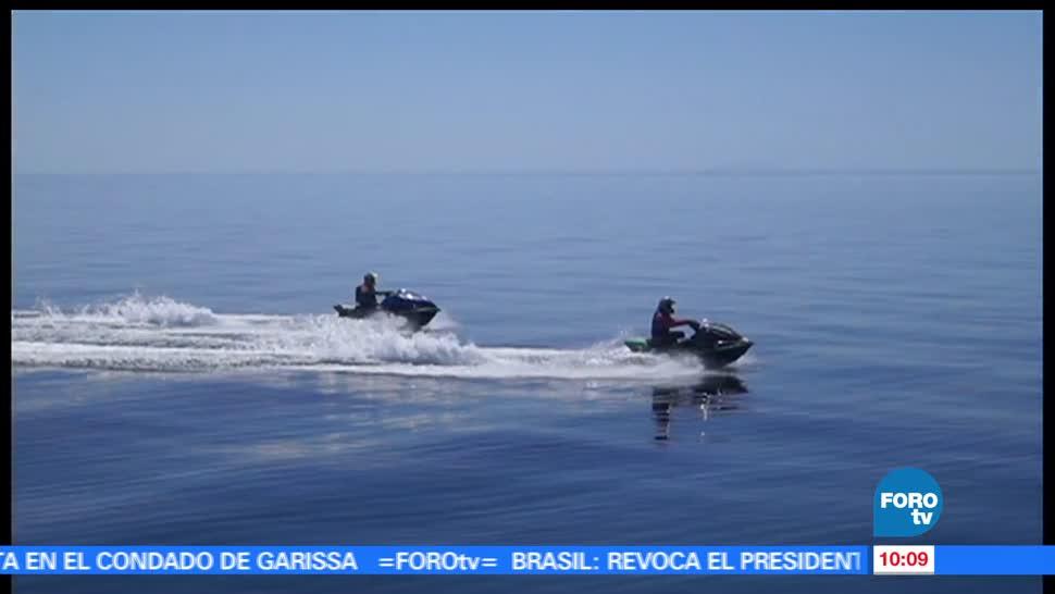 Rogelio Magaña, reto, superó, cruzar el Mar de Cortés